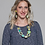Thumbnail: Lime and Navy Alexis Necklace