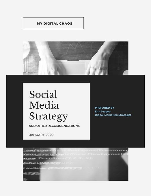 My Digital Chaos Social Media Strategy