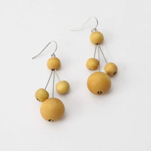 Mustard Berna Earrings