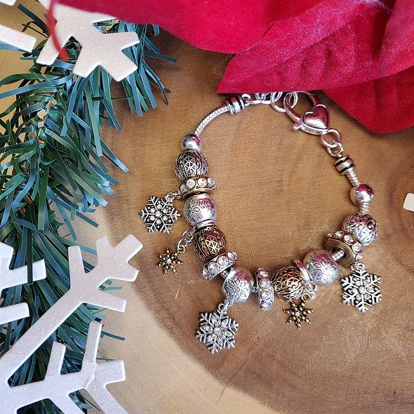Silver Snow Bracelet