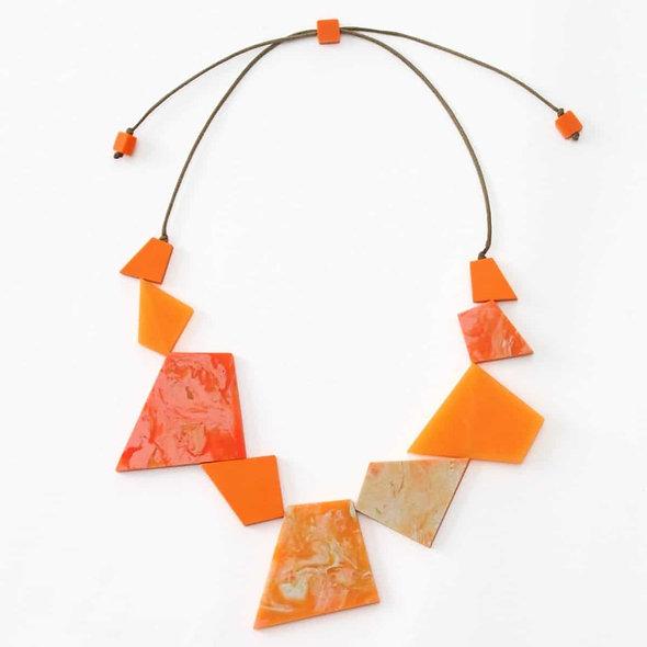 Orange Lexi Necklace