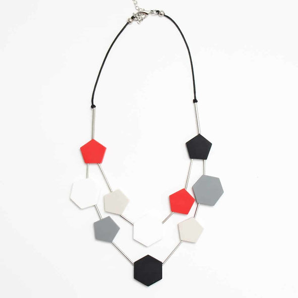 Double Strand Kate Necklace