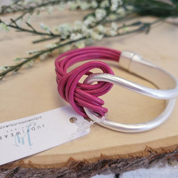 Knotted Magnetic Bracelet