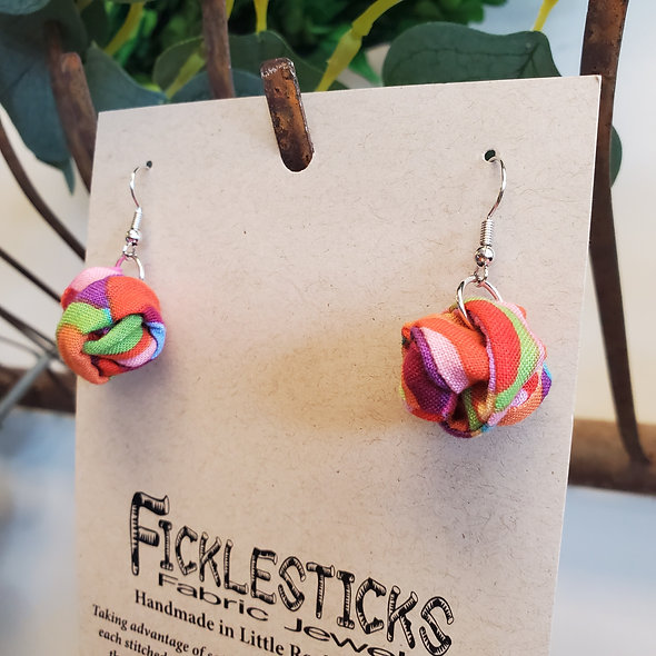 Ficklesticks™ Small Gumball Earrings
