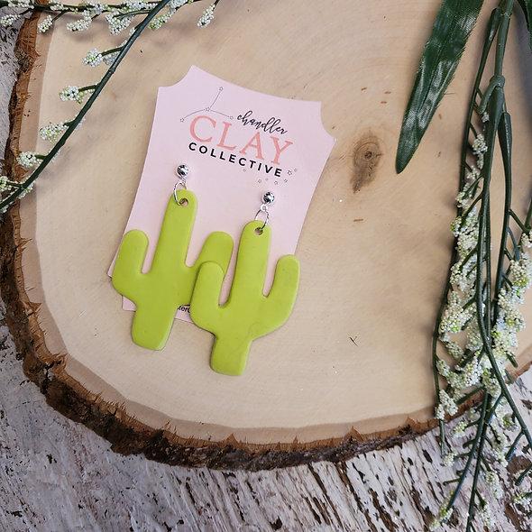 Handmade Cactus Earrings