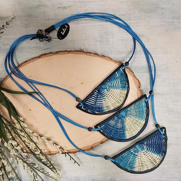 Alisha D. Wicker Triple Strand Drop Necklace