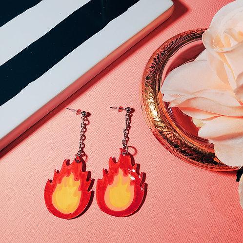 Hot as Hell Earrings