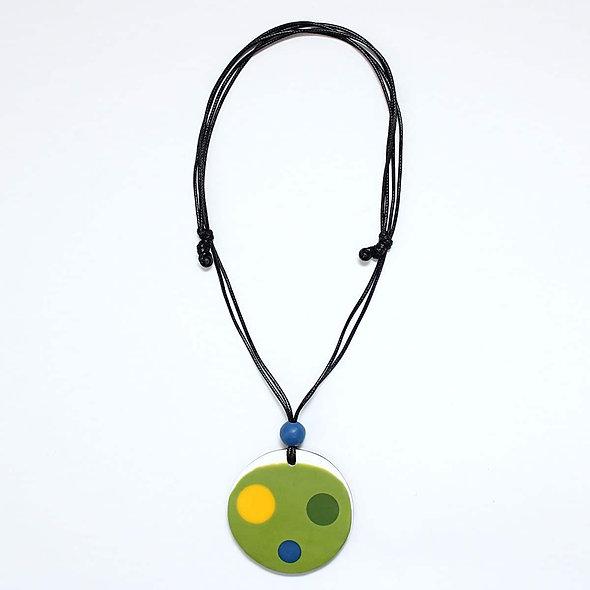Lime Peyton Pendant Necklace
