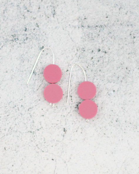 Pink Ingrid Earrings