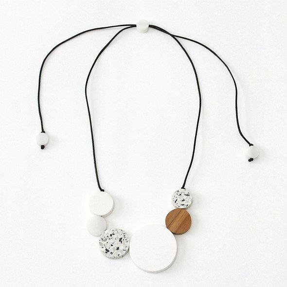 White Claire Necklace
