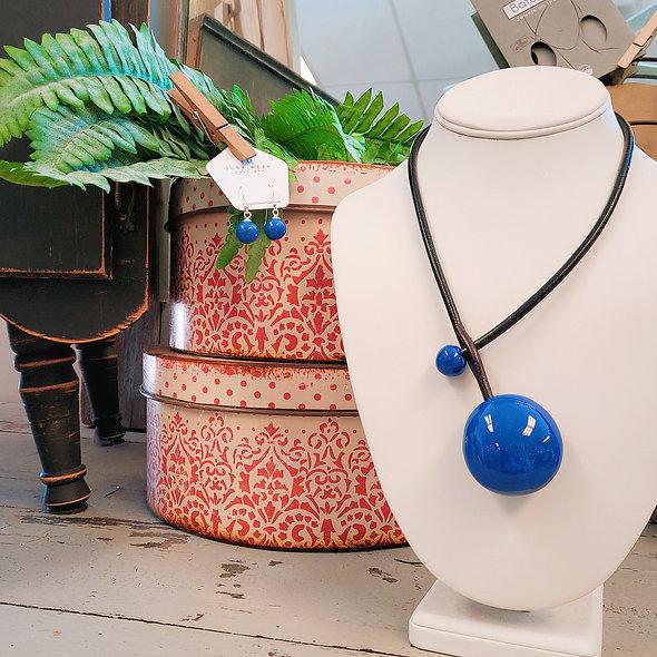 Gevole Baked Ceramic Necklace