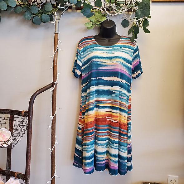 Sedona Chic Mini Dress