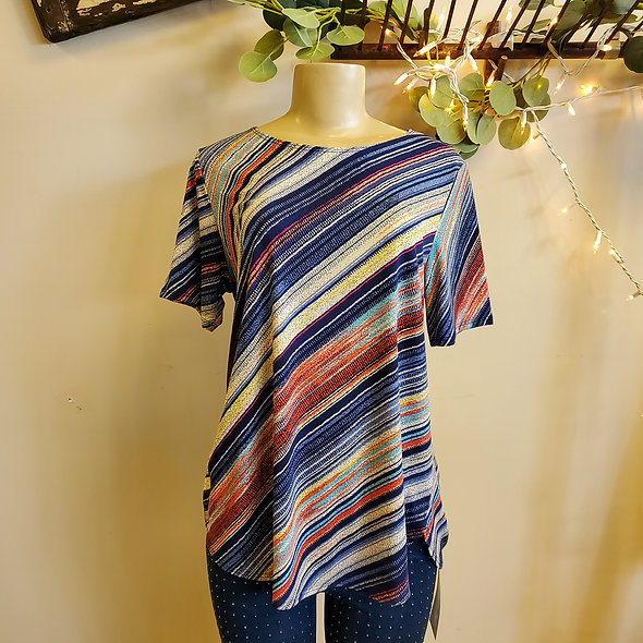 JoStar Casual Striped Tee Shirt