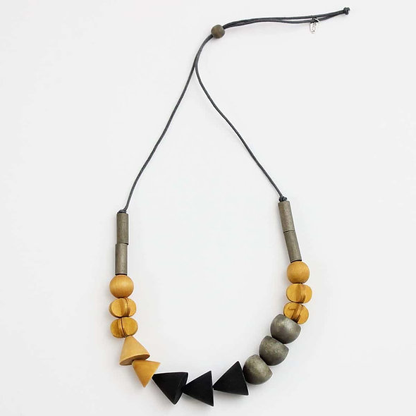 Yellow Wood Deanna Necklace
