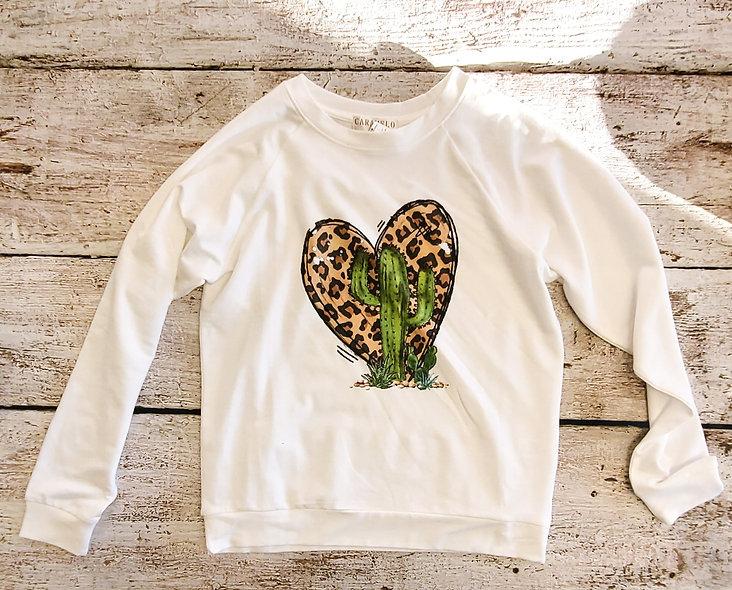 Cactus Heart Top