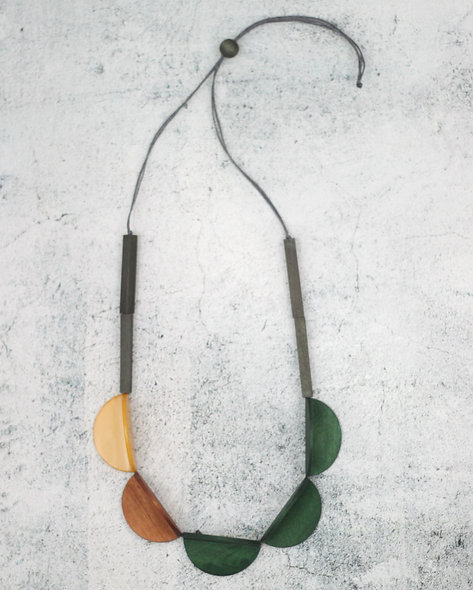Green Wood Cassie Necklace