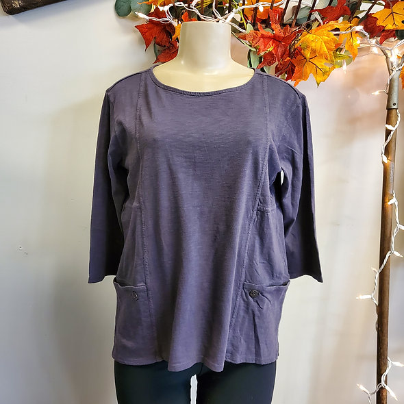 Habitat Mushroom Taupe Pocketed Top