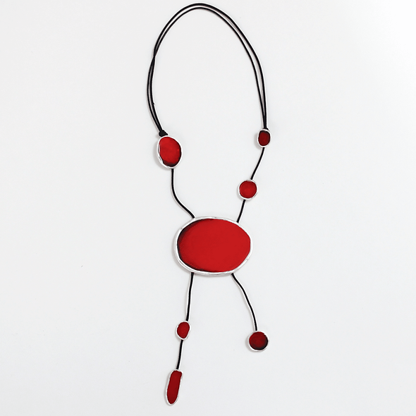 Red Adrianne Necklace