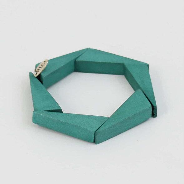 Wooden Geometric Bracelet