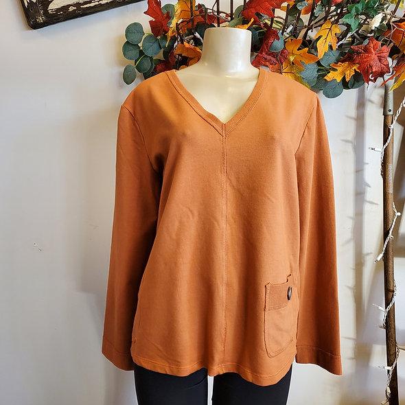 Prairie Cotton Pocketed Pumpkin Top