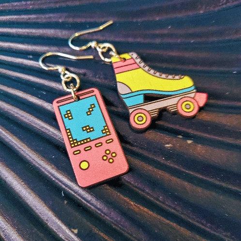 Retro 80s Nostalgia Earrings