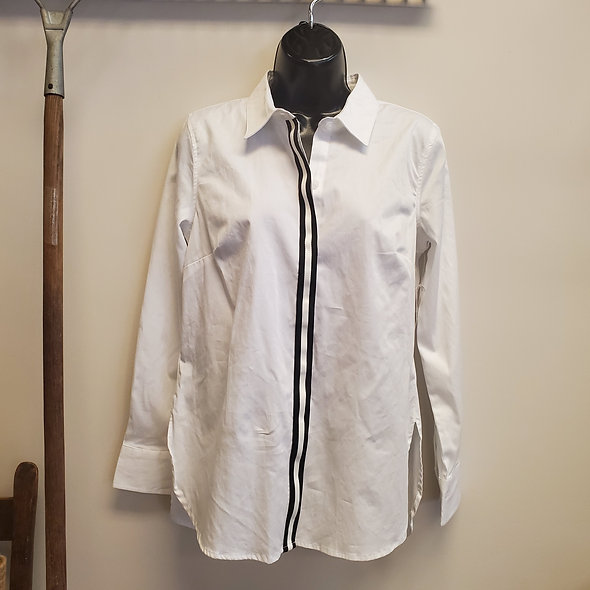 "Tribal ""The Shirt"" White Button Down"