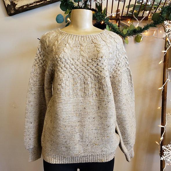 Tribal Birch Knit Sweater