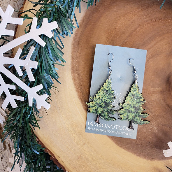 Spruced Up Pine Earrings