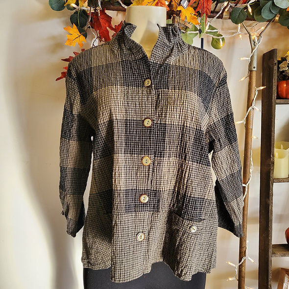 Habitat Driftwood Button Down Top