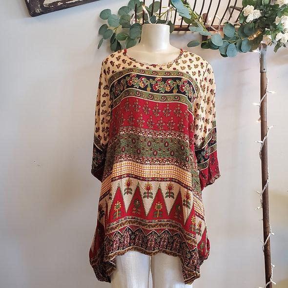 Sacred Threads Boho Chic Tunic [OS]