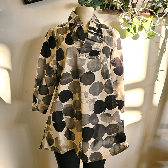 Yushi Pebble Print Tunic