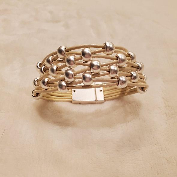 Braided Cord Magnetic Bracelet