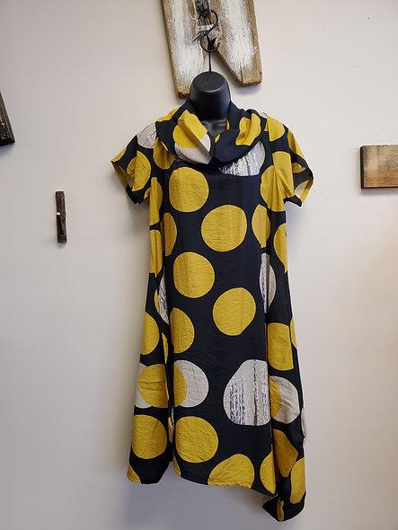 Shana Polka Dot Midi Dress