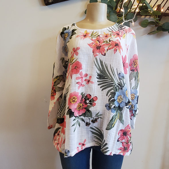 Charlie B Tropical Chic Top