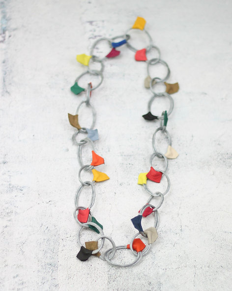 Multi Color Loop Millie Necklace
