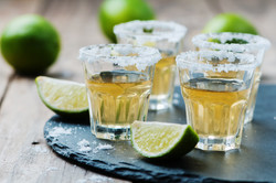 Tequila shots El Vaquero