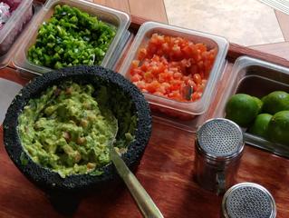 Fresh Authentic Guacamole At El Vaquero Mexican Restaurant