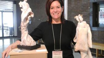 """Prix """"COUP DE COEUR"""" au Printemps de la Sculpture 2015"""