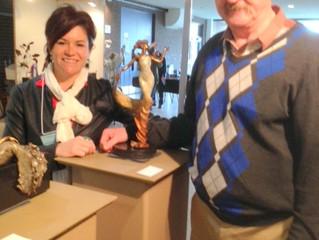 Christine Gagné sculpteure: Prix Coup de Coeur 2014 à Lachute