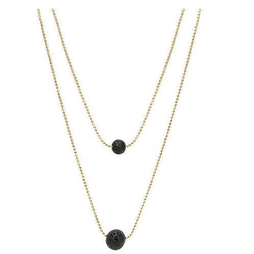 Diffuser Necklace - Black