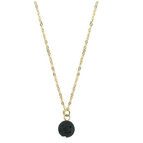 Lava Stone Necklace - Single