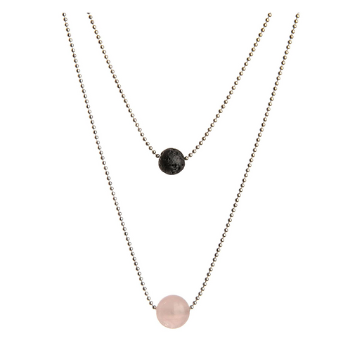 Diffuser Necklace - Pink