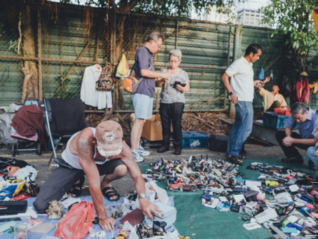 An Ode to the Sungei Road Market (3-part collective) by Mohd Khairulnizam
