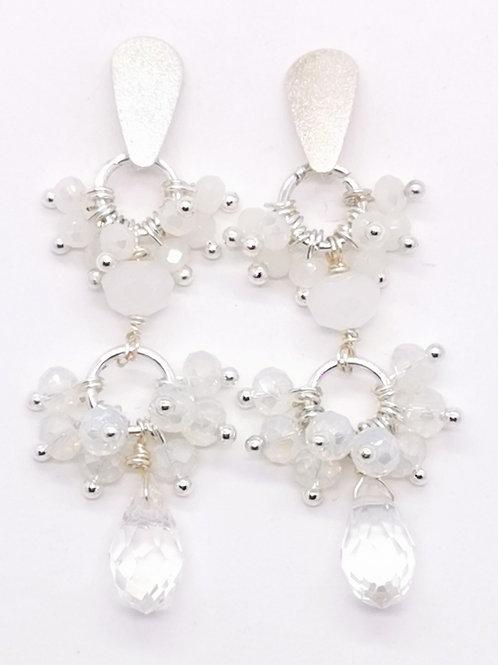 Aros Blancos - Cristal