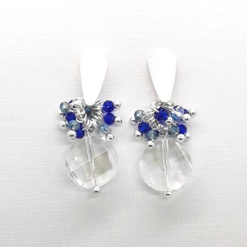 Aros Cristal Azul