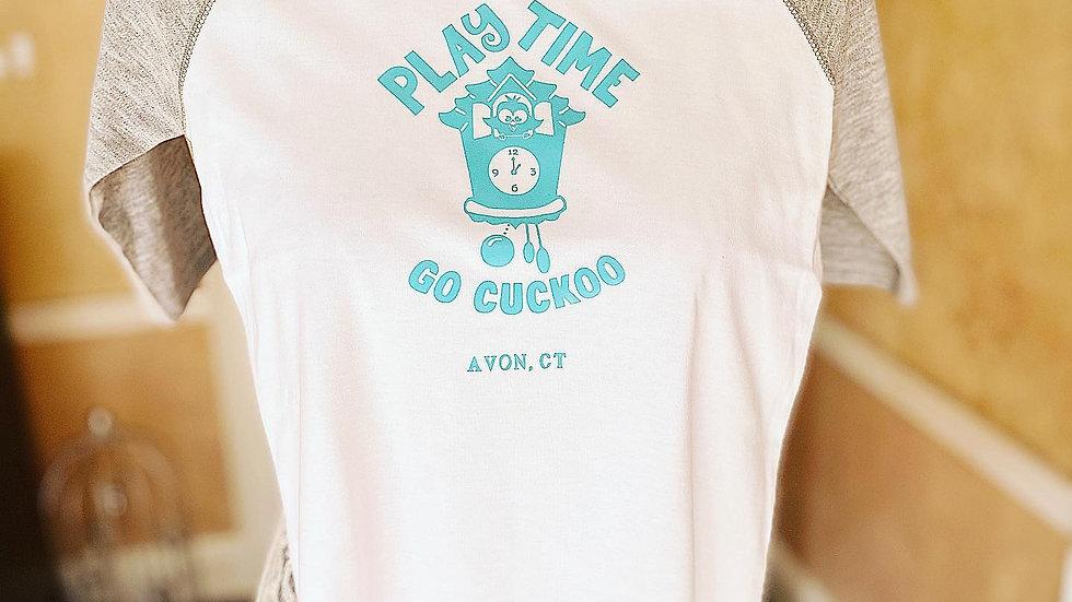 It's PlayTime Raglan shirt