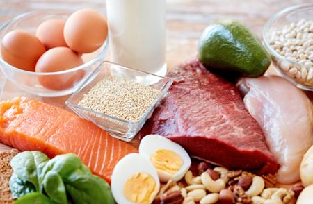 Proteinas desde la dieta