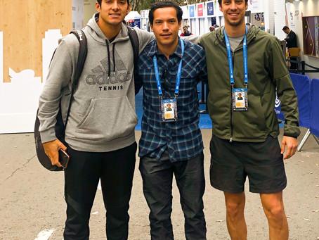 Con Cristián Garín presentes en ATP Barcelona Open 2019
