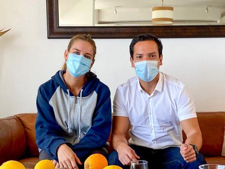 JUNTO A ISIDORA JIMENEZ, PLANIFICANDO EL CAMINO A LOS JUEGOS OLIMPICOS DE TOKIO 2021