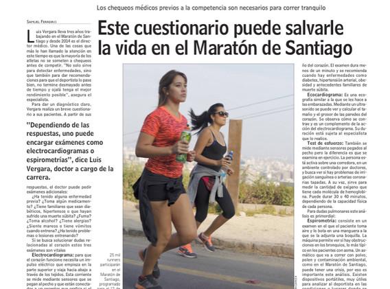 Preparación de una maratón (Las Últimas Noticias)